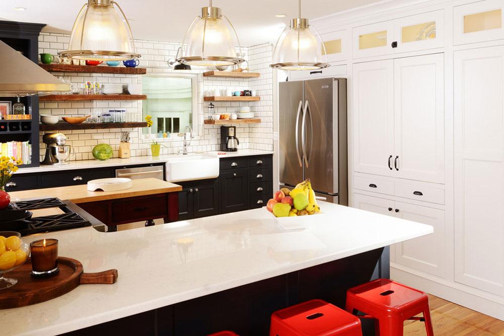Stuga-stil-kök-design-lätt att få 8 stuga-stil kök design