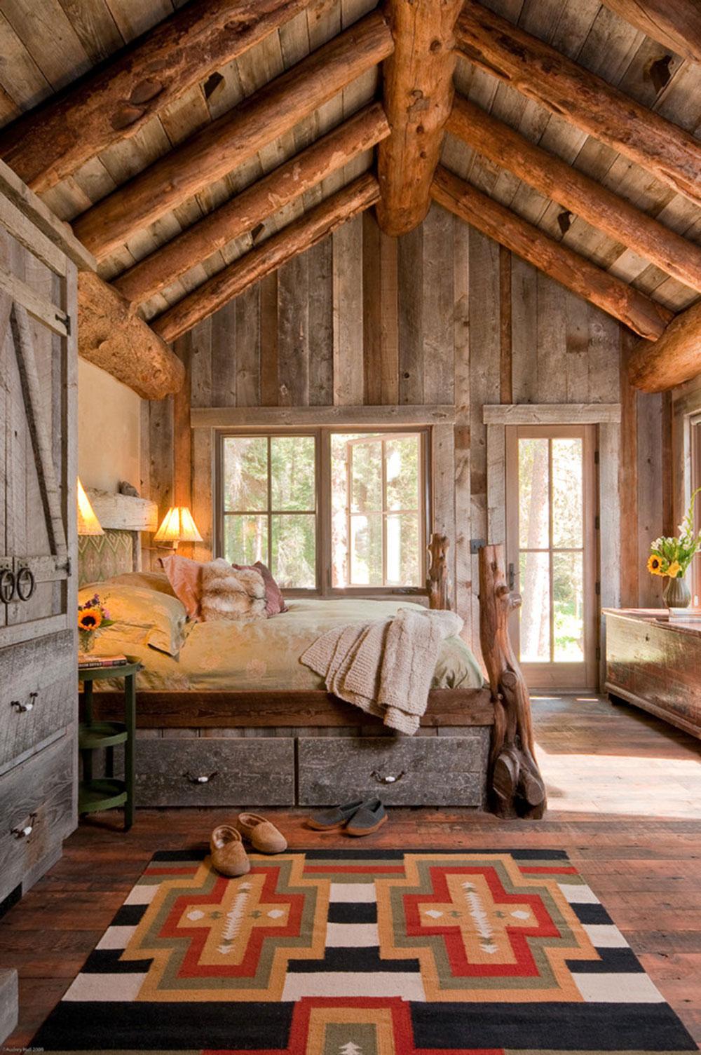 Rustik-sovrum-design-idéer-som-utstrålar-komfort-2 Rustik-sovrum-design-idéer-som-utstrålar komfort