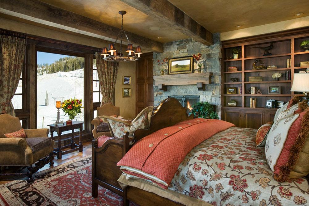 Rustik-sovrum-design-idéer-som-utstrålar-komfort-16 Rustik-sovrum-design-idéer-som-utstrålar komfort