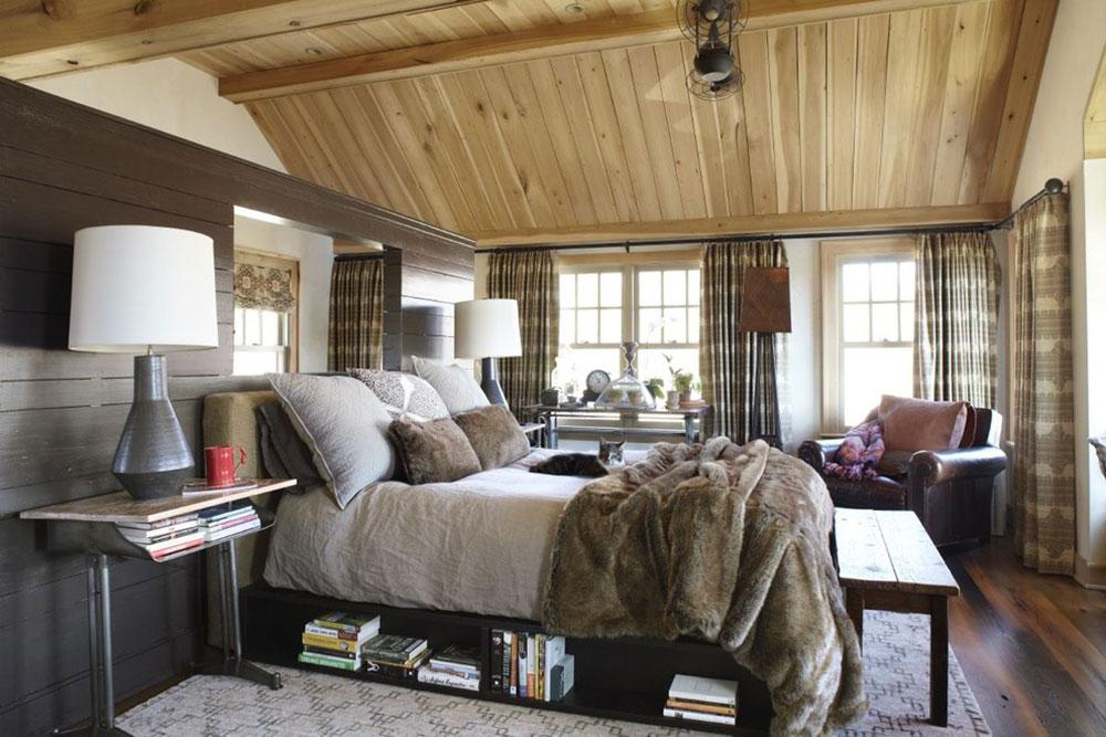 Rustik-sovrum-design-idéer-som-utstrålar-komfort-6 Rustik-sovrum-design-idéer som utstrålar komfort