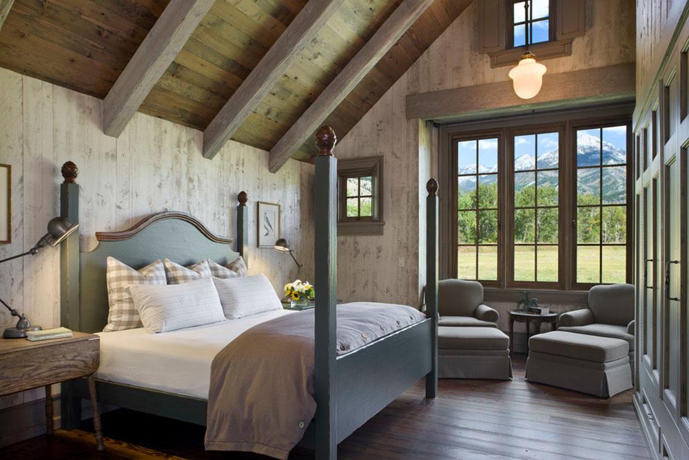 Rustik-sovrum-design-idéer-som-utstrålar-komfort-14 Rustik-sovrum-design-idéer-som-utstrålar komfort