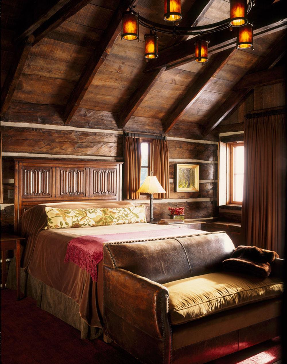 Rustik-sovrum-design-idéer-som-utstrålar-komfort-10 Rustik-sovrum-design-idéer som utstrålar komfort