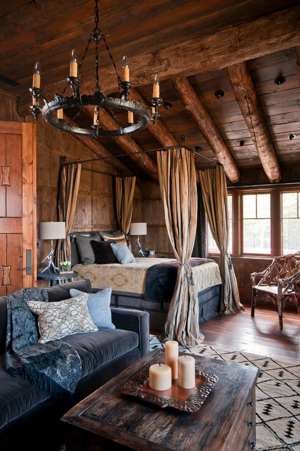 Rustik-sovrum-design-idéer-som-utstrålar-komfort-13 Rustik-sovrum-design-idéer-som-utstrålar komfort