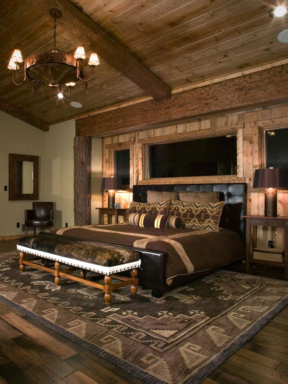 Rustik-sovrum-design-idéer-som-utstrålar-komfort-9 Rustik-sovrum-design-idéer som utstrålar komfort