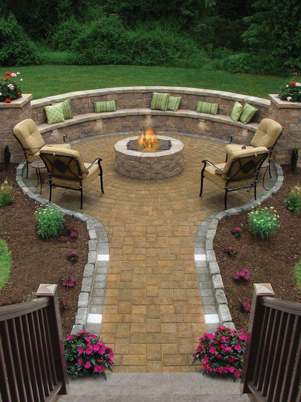 Traditionell terrass Vad ska man göra när man flyttar in i ett nytt hus?