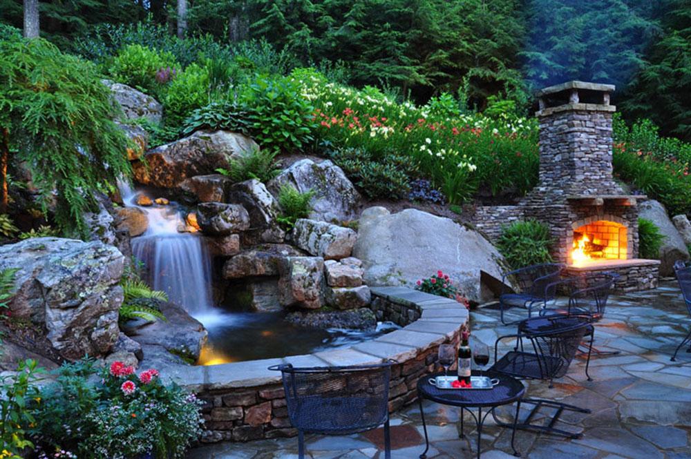 Förbättra din levnadsmiljö med bakgårdsvattenfall 13 bakgårdsvattenfallidéer för att inspirera dig