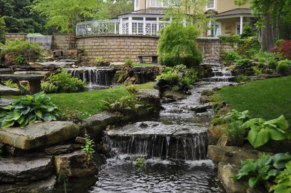 Förbättra din atmosfär med bakgårdsvattenfall7 idéer för bakgårdsvattenfall för att inspirera dig