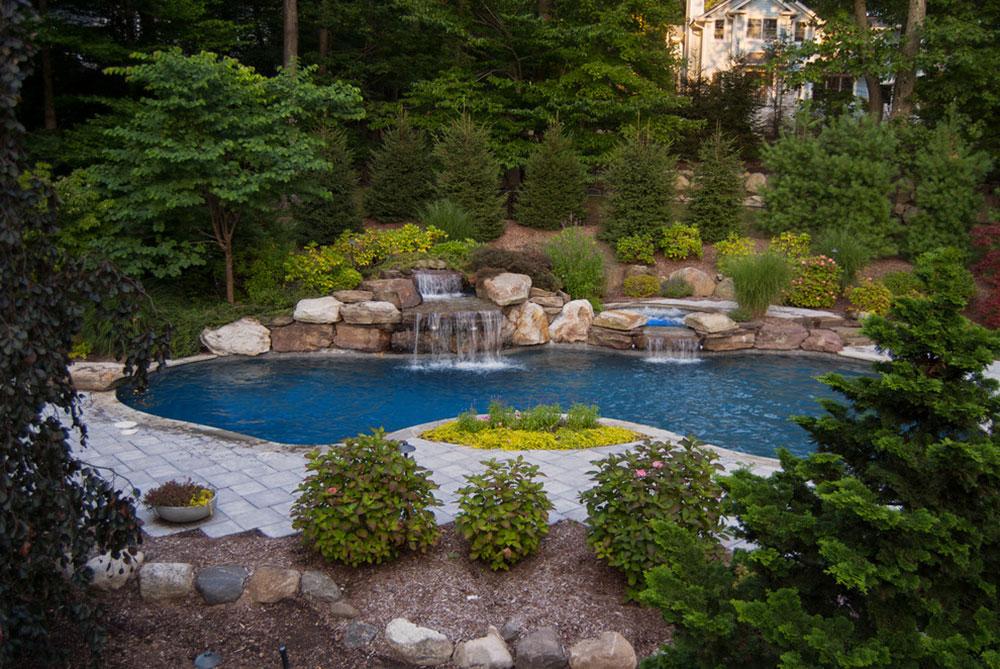 Förbättra din levnadsmiljö med bakgårdsvattenfall 14 idéer för bakgårdsvattenfall för att inspirera dig