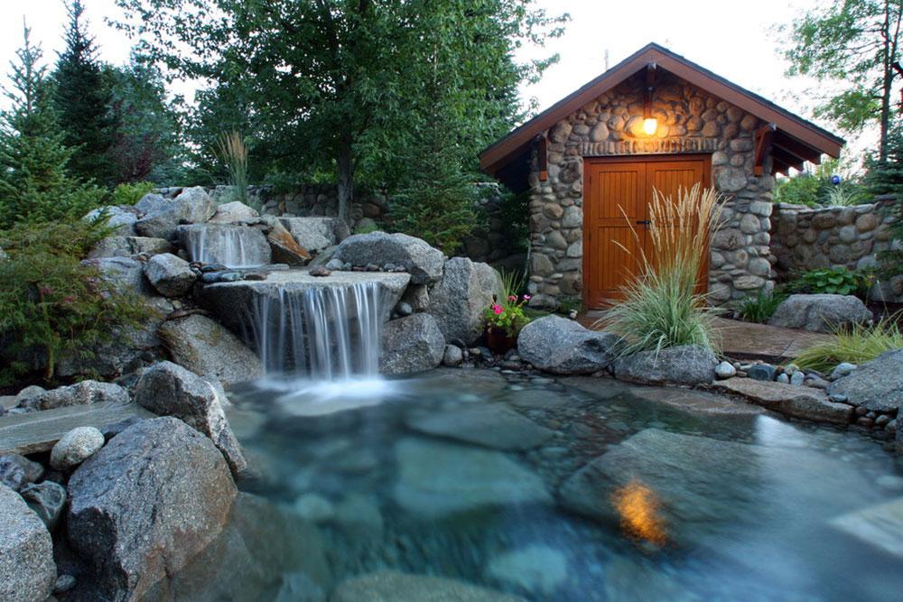 Förbättra din levnadsmiljö med bakgårdsvattenfall12 idéer för bakgårdsvattenfall för att inspirera dig