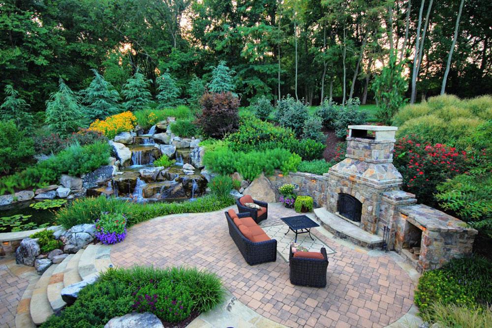 Förbättra-huset-atmosfären-med-bakgård-vattenfall2 bakgård-vattenfall-idéer för att inspirera dig