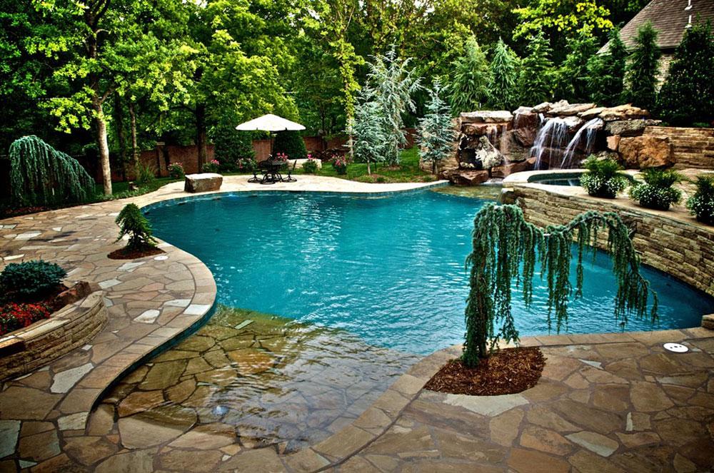 Förbättra din levnadsmiljö med bakgårdsvattenfall 10 bakgårdsvattenfallidéer för att inspirera dig