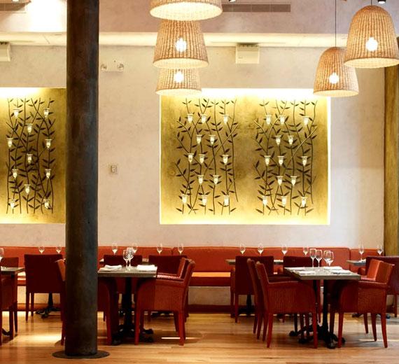 r7 Utställningar med inredning av kaféer och restauranger - 41 exempel