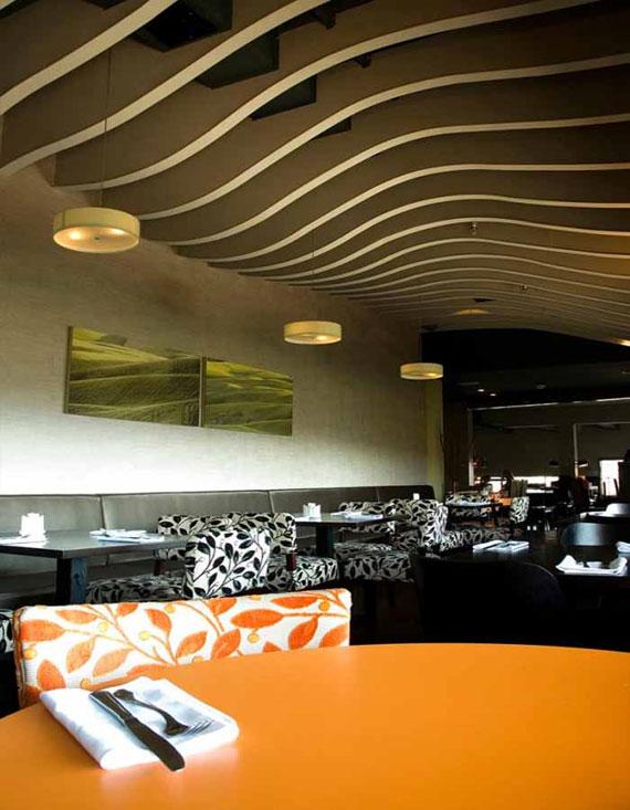r17 Uppställningar av inredningsdesign på kaféer och restauranger - 41 exempel