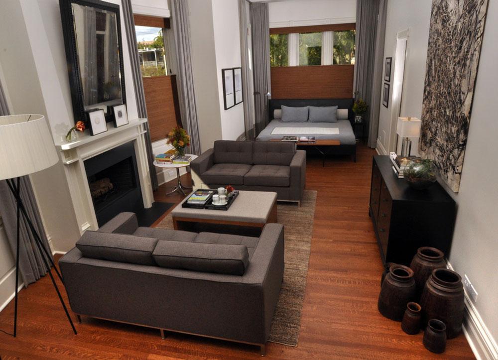 Lincoln-Park-Master-Suite-by-Nicholas-Moriarty-Interiors Ett vardagsrum med öppen spis och dekorinstruktioner