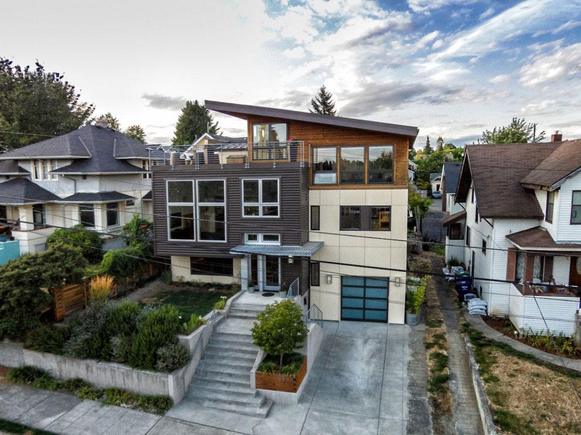 Trevlig ombyggnad av ett hus av grupparkitekter-2 Trevlig ombyggnad av ett hus av grupparkitekter