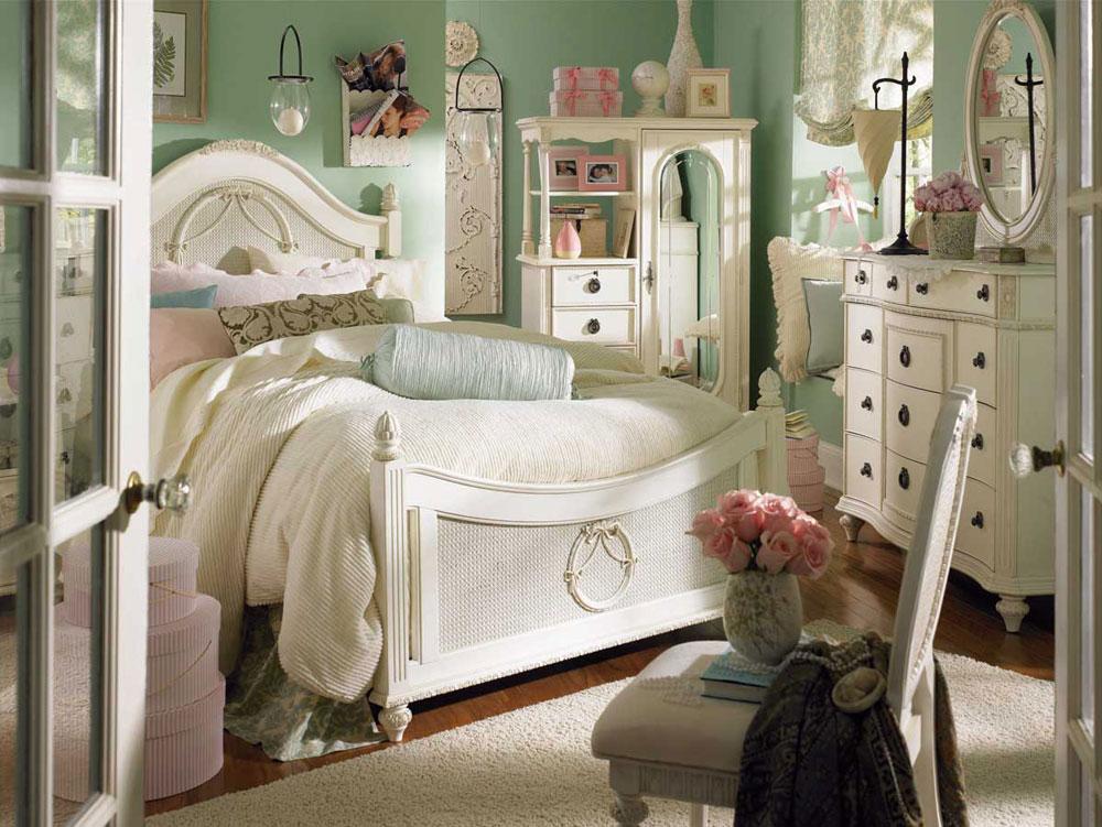 A-chic-collection-of-vintage-bedroom-interiors-4 En chic samling av vintage-sovrumsinteriörer