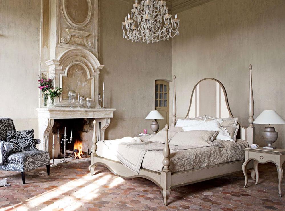 A-Chic-samling-av-vintage-sovrum-interiörer-10 En elegant samling av vintage sovrumsinteriörer
