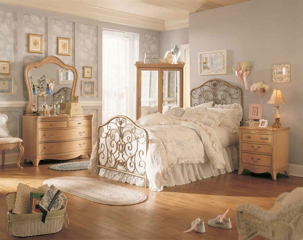 A-Chic-samling-av-vintage-sovrum-interiörer-8 En elegant samling av vintage sovrum interiörer