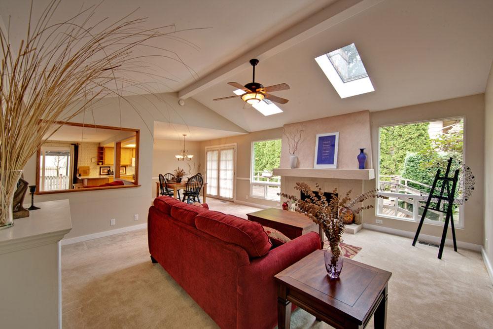 Vardagsrum med takfönster som ger naturligt ljus 7 vardagsrum med takfönster som ger naturligt ljus