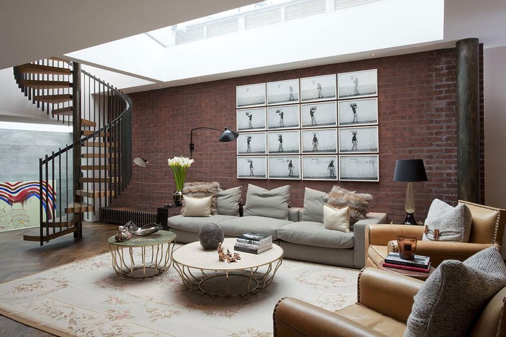 Vardagsrum med takfönster som ger naturligt ljus 11 vardagsrum med takfönster som ger naturligt ljus