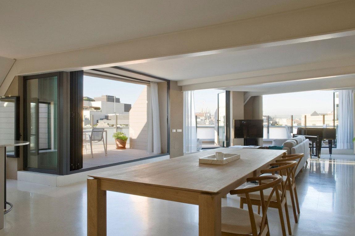 Rymlig takvåning med en fin balans mellan möbler och inredning 8 Rymlig takvåning med en fin balans mellan möbler och inredning