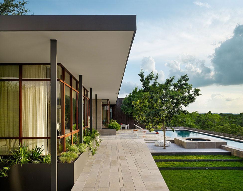 Elegant och bekvämt hem med en blandning av moderna och rustika stilar 14 Elegant och bekvämt hem med en blandning av moderna och rustika stilar