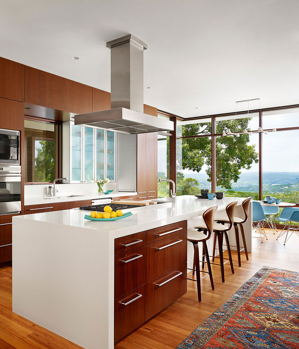 Elegant och bekvämt hem med en blandning av moderna och rustika stilar 9 Elegant och bekvämt hem med en blandning av moderna och rustika stilar