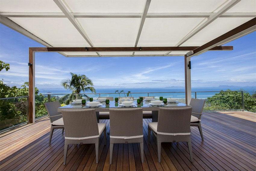 Modern-Tropical-VIlla-4 Modern tropisk VIlla med en enorm, glittrande pool
