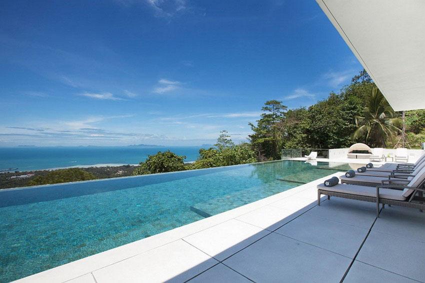 Modern-Tropical-VIlla-2 Modern tropisk VIlla med en enorm, glittrande pool