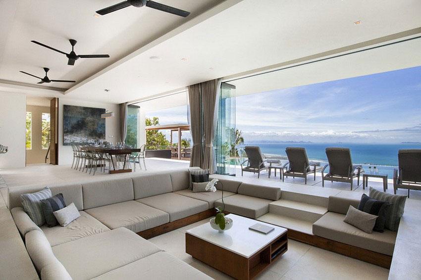 Modern-Tropical-VIlla-6 Modern tropisk VIlla med en enorm, glittrande pool