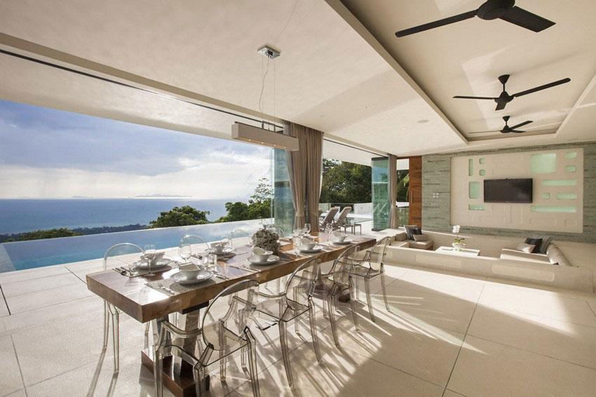 Modern-Tropical-VIlla-7 Modern tropisk VIlla med en enorm, glittrande pool