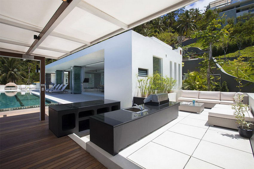 Modern-Tropical-VIlla-17 Modern tropisk VIlla med en enorm, glittrande pool