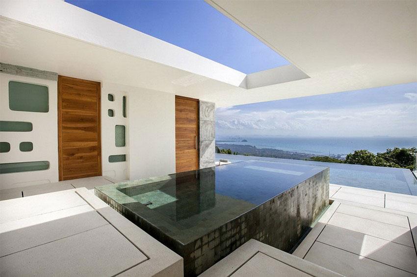 Modern-Tropical-VIlla-16 Modern tropisk VIlla med en enorm, glittrande pool