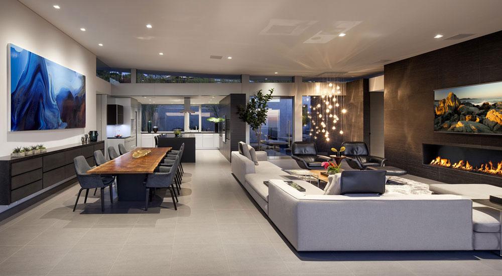 Ellis Residence 2 hus med vacker arkitektur och inredning av McClean Design