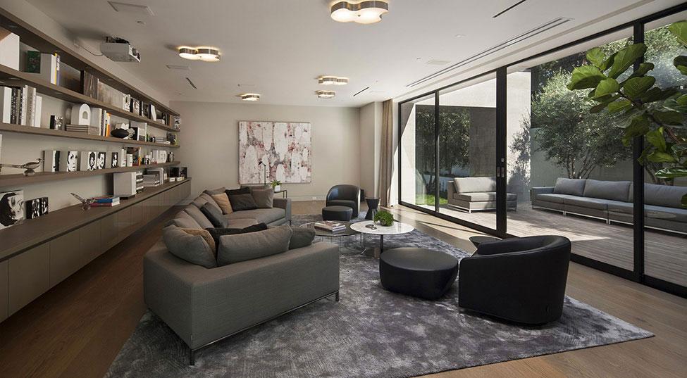 Sunset-Strip-Residence-1 Hem med vacker arkitektur och inredning av McClean Design