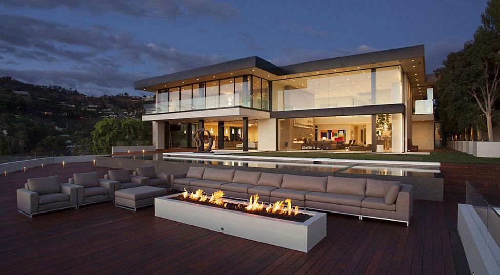 Sunset-Strip-Residence-2 hus med vacker arkitektur och inredning av McClean Design