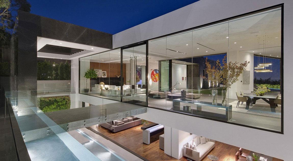 T-1 hus 1 hus med vacker arkitektur och inredning av McClean Design