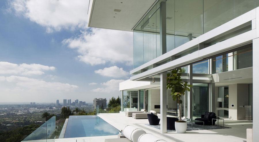Oriole Way 3 hus med vacker arkitektur och inredning av McClean Design