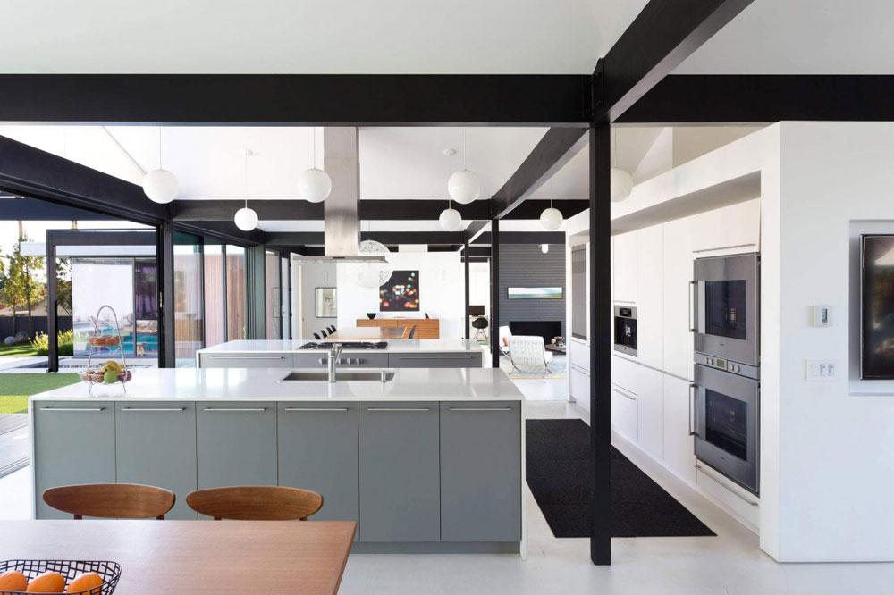 Vackert soligt hus skapat av Pierre Koenig och redesignat av Robert Sweet-112 Vackert soligt hus skapat av Pierre Koenig och redesignat av Robert Sweet