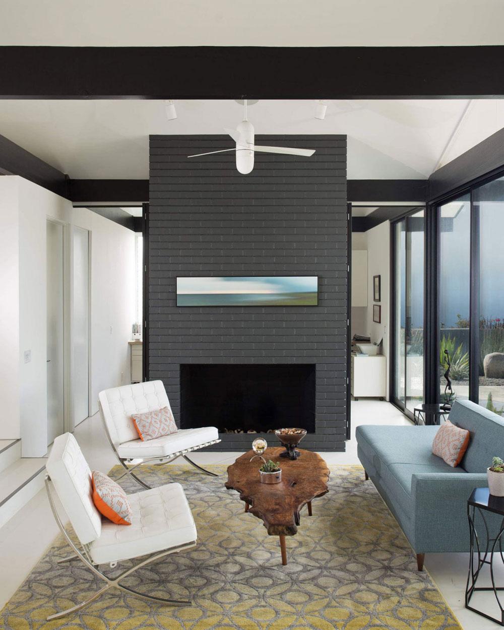 Vackert soligt hus skapat av Pierre Koenig och redesignat av Robert Sweet-61 Vackert soligt hus skapat av Pierre Koenig och redesignat av Robert Sweet