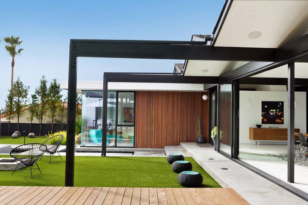 Vackert soligt hus skapat av Pierre Koenig och redesignat av Robert Sweet-21 Vackert soligt hus skapat av Pierre Koenig och redesignat av Robert Sweet
