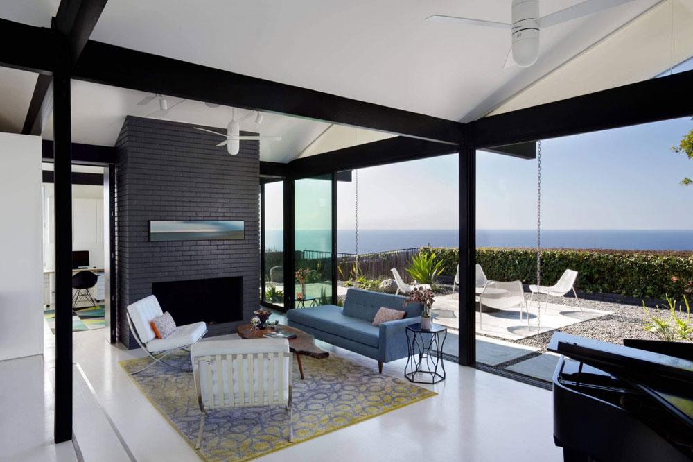 Vackert soligt hus skapat av Pierre Koenig och redesignat av Robert Sweet-51 Vackert soligt hus skapat av Pierre Koenig och redesignat av Robert Sweet