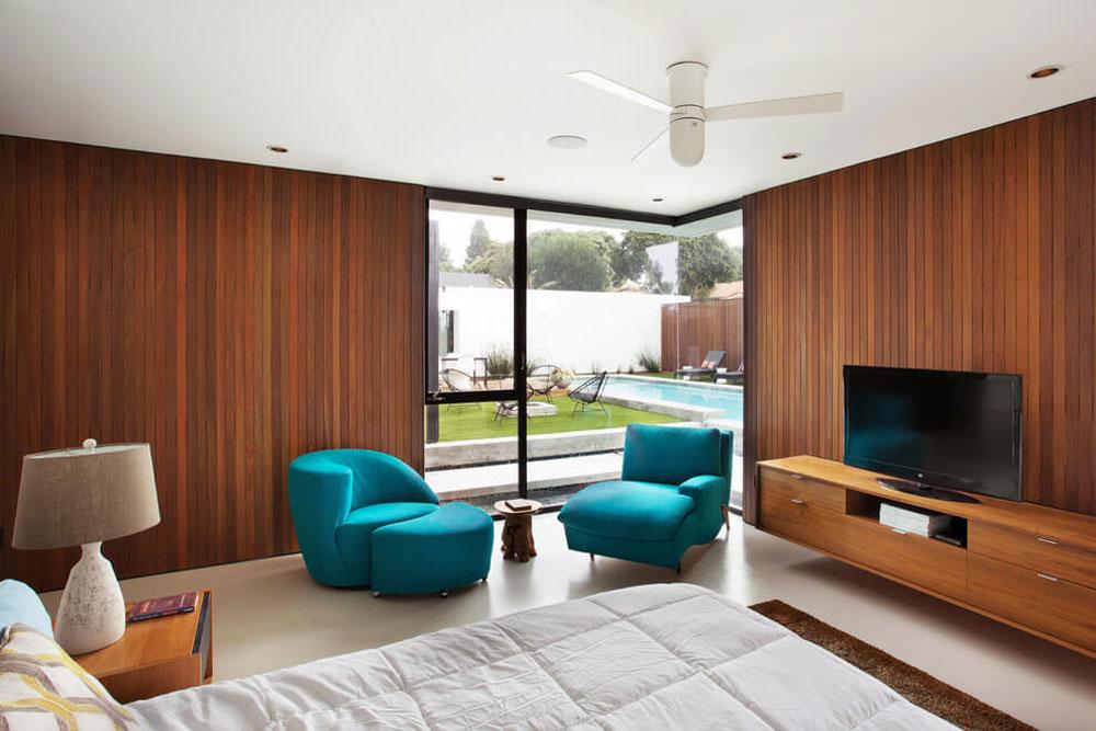 Vackert soligt hus skapat av Pierre Koenig och redesignat av Robert Sweet-131 Vackert soligt hus skapat av Pierre Koenig och redesignat av Robert Sweet