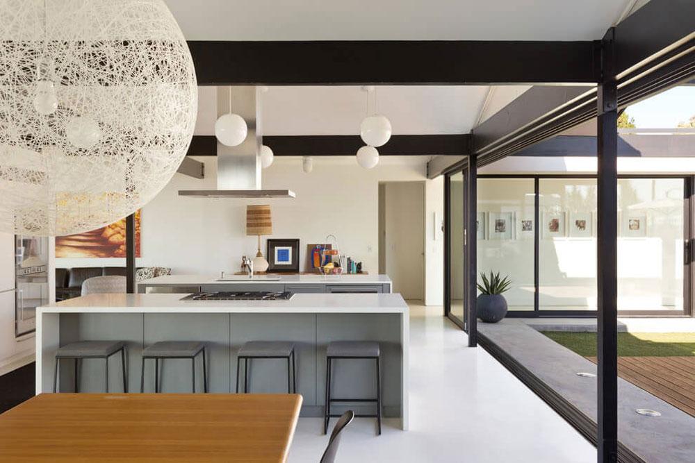 Vackert soligt hus skapat av Pierre Koenig och redesignat av Robert Sweet-91 Vackert soligt hus skapat av Pierre Koenig och redesignat av Robert Sweet