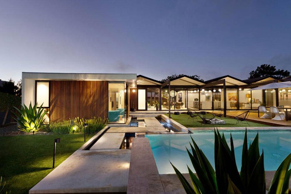 Vackert soligt hus skapat av Pierre Koenig och redesignat av Robert Sweet-191 Vackert soligt hus skapat av Pierre Koenig och redesignat av Robert Sweet