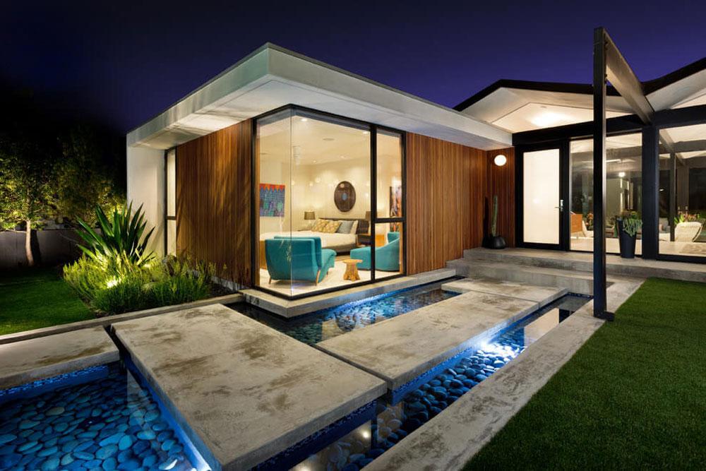 Vackert soligt hus skapat av Pierre Koenig och redesignat av Robert Sweet-181 Vackert soligt hus skapat av Pierre Koenig och redesignat av Robert Sweet