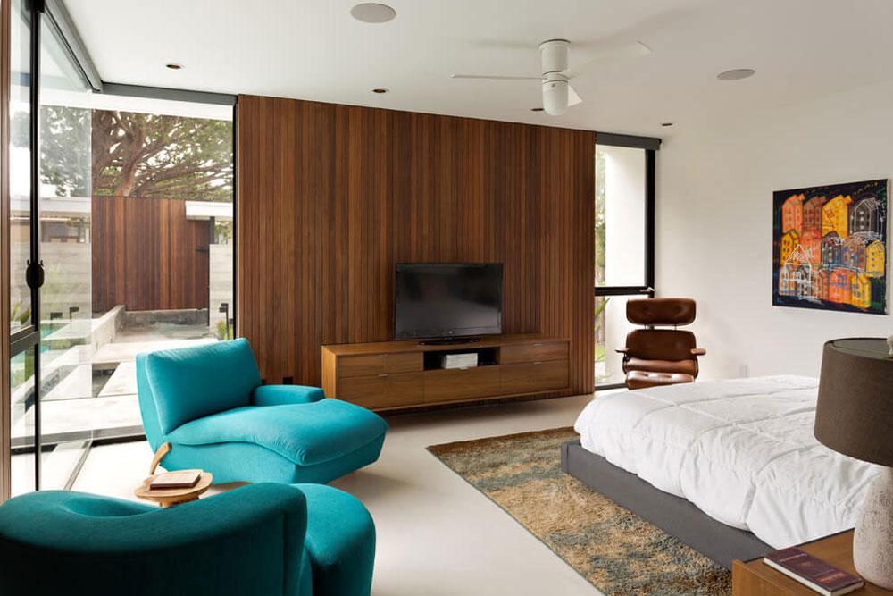Vackert soligt hus skapat av Pierre Koenig och redesignat av Robert Sweet-141 Vackert soligt hus skapat av Pierre Koenig och redesignat av Robert Sweet