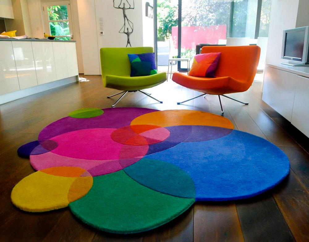 Använda färger och mönster på en matta2 Välja rätt matta för ett rum