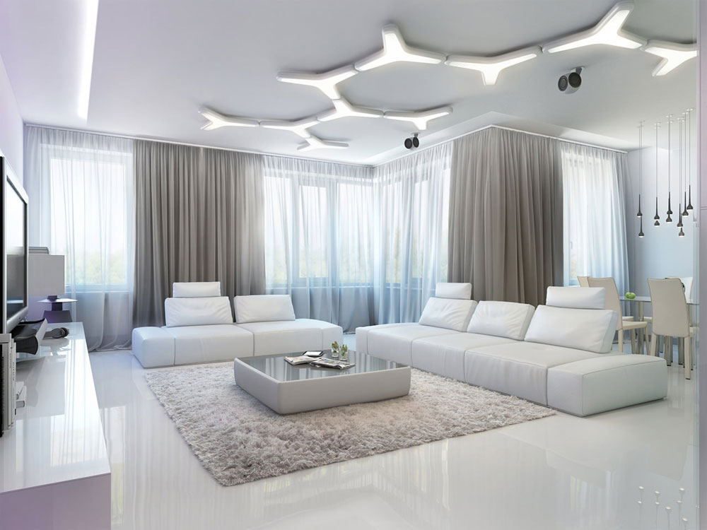 Lägga till en matta på vardagsrumsgolvet Hur man väljer rätt matta för ett rum