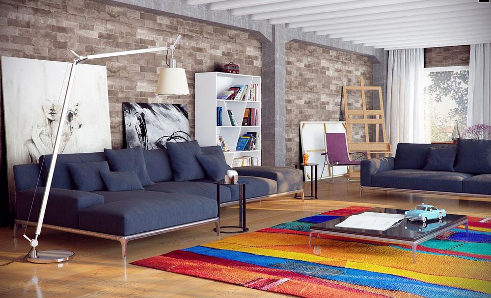 A-Matt-tyger-bör-också-övervägas1 Hur man väljer rätt matta för ett rum
